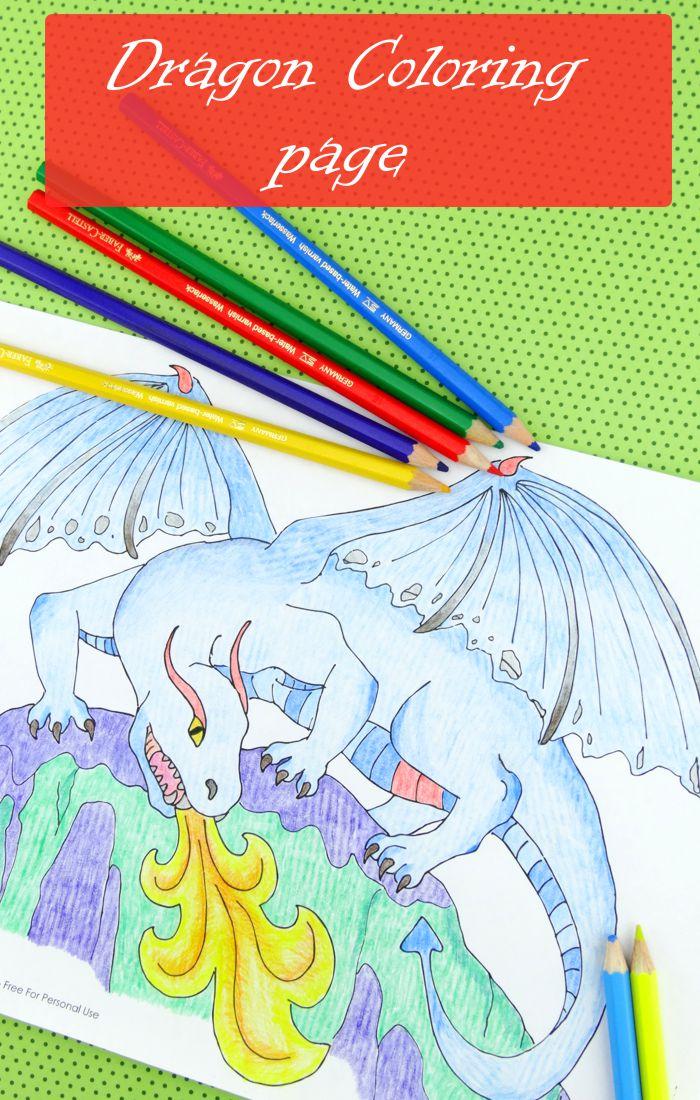 Dragon Free Printable