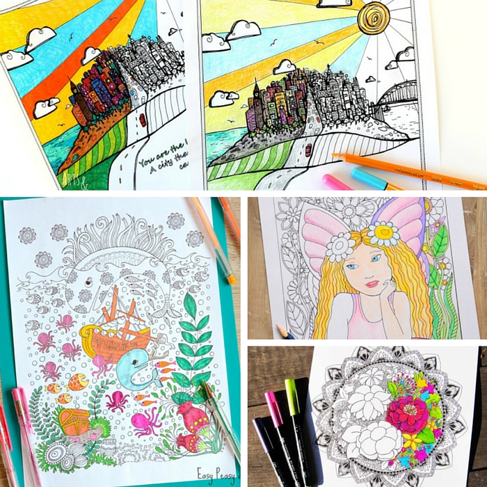 Gorgeous Coloring Pages for Adults