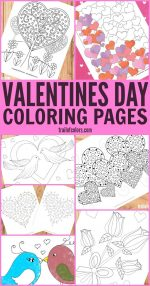 Valentines Day Coloring Pages for Adults and Kids