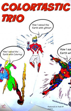 Superhero Coloring Pages For Kids