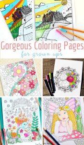Gorgeous Coloring Pages for Grown Ups