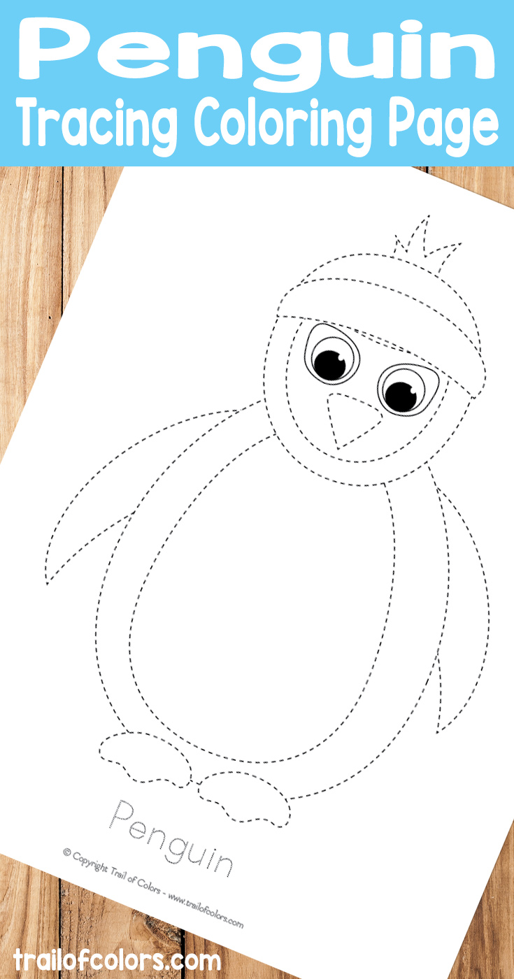 penguin-tracing-coloring-page