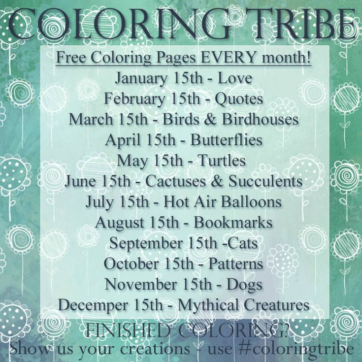 Coloring Tribe Titles