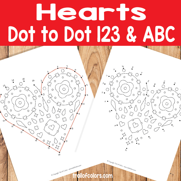 Hearts Dot to Dot